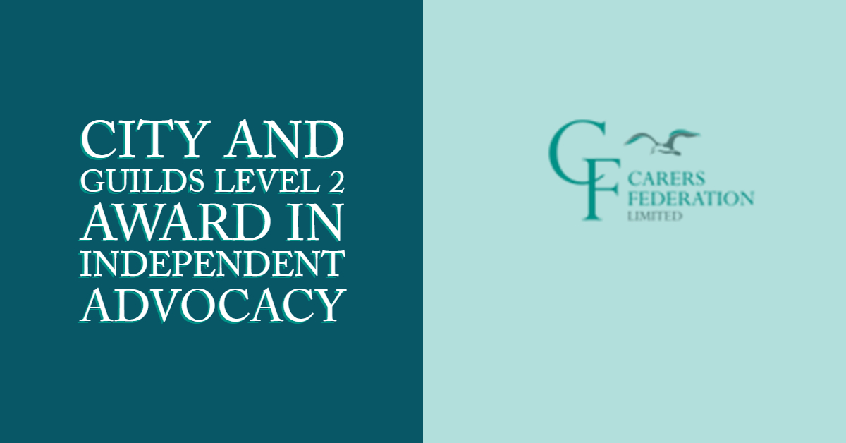 Course image for City and Guilds Level 2 Award in Independent Advocacy Unit - 201